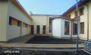 Misijný dom A. Jansena Bratislava - pohľad do átria