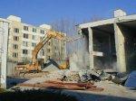HUBERT J.E., s.r.o. Sereď  - Výrobná budova , kotolňa - demolačné práce